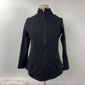 Lululemon Define black zip jacket size 10